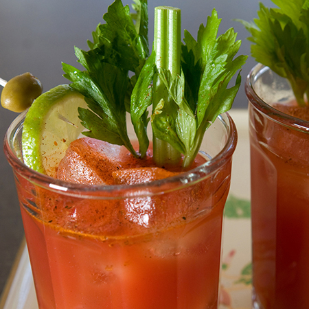 Colorful Bloody Mary